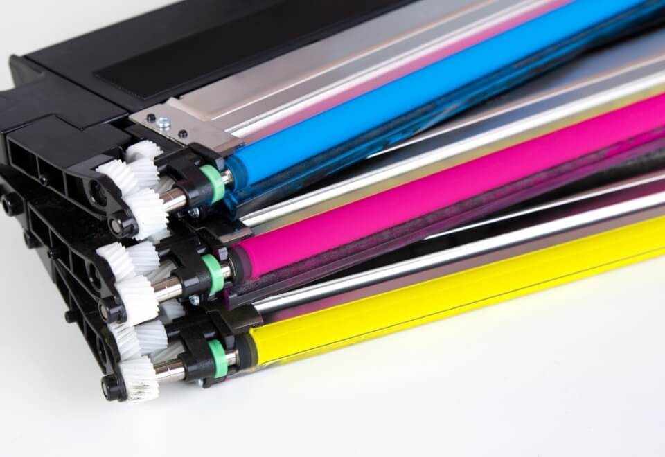assorted ink cartridges